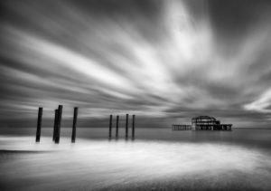 Brighton West Pier by Stuart Crump