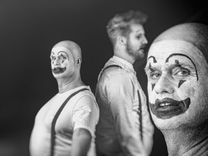 Clowns III by Jacqu Jay Grafton