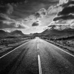 Road to the Cuillins by Bill Allsopp