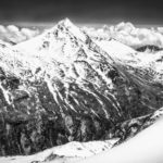Saas-Fee 4 Stellihorn from Mittelallalin by Eric Butler