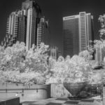 Skyscrapers Infra red by Andrew Cooper