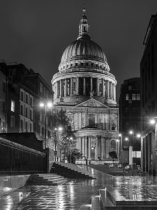 St Paul's by Night by Andrew Cooper