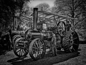 Steam traction Engine by Eric Butler