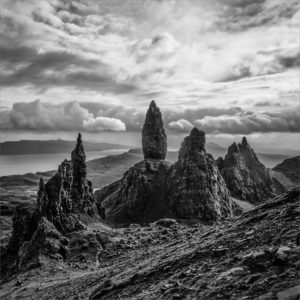 The Old Man of Storr by Sarah Middleton