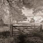 The closed gate by Bill Allsopp