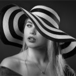 Under a Black and White Hat by Sarah Middleton